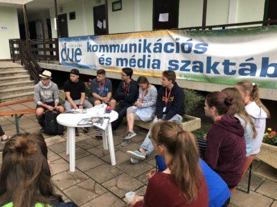 Elkészültek az első tábori médiatermékek